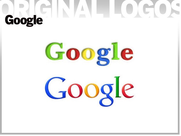 لوگوی اولیه شرکتهای نامدار فناوری
