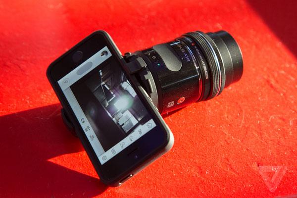 دوربینی بیسیم برای عکسبرداری بهتر با موبایل و تبلت
