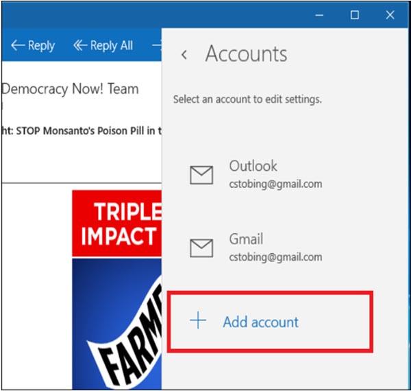 چگونه یک حساب ایمیل POP3 را در ویندوز 10 پیکربندی کنیم؟