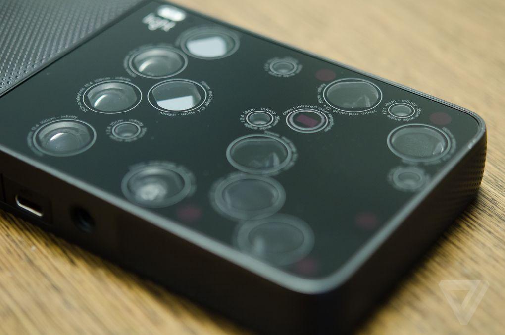 16 دوربین با لنزهای مختلف در یک بدنه + گالری عکس