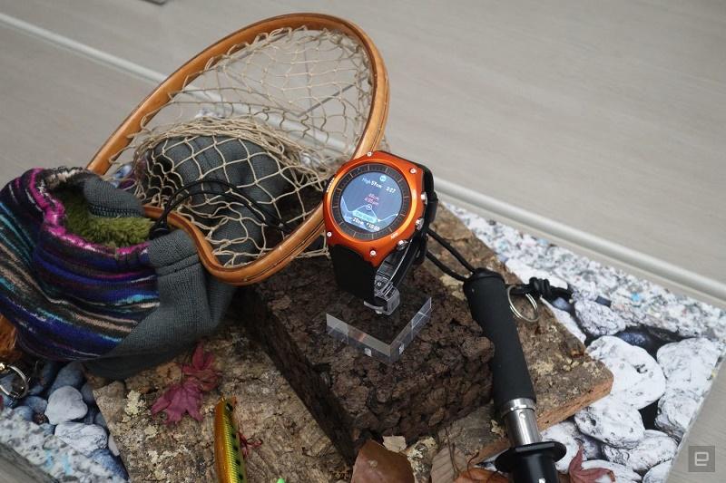 اولین ساعت هوشمند کاسیو + گالری عکس