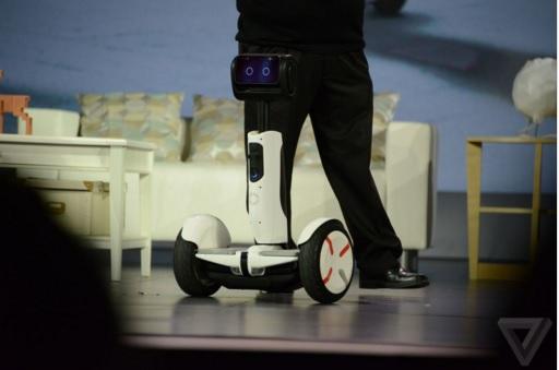 بهترین هاوربورد CES 2016 یک روبات تبدیلشونده است + گالری عکس