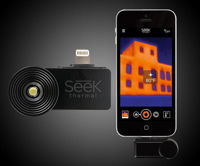 با این گجت اسمارتفونتان را به دوربین حرارتی تبدیل کنید + گالری عکس