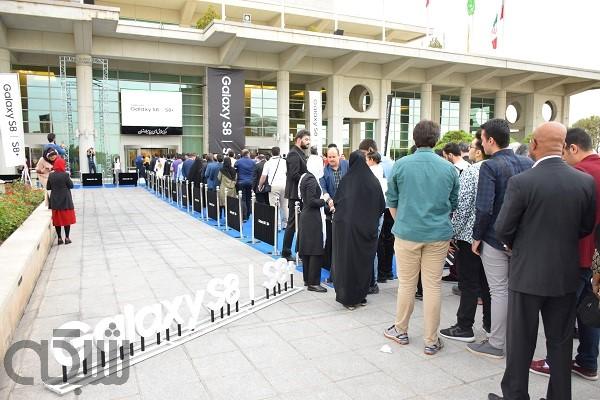گلکسی اس 8 و 8 پلاس در ایران رونمایی شدند + عکس