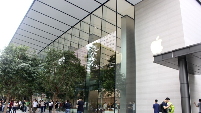 نخستین فروشگاه اپل سنگاپور در اوج سادگی و زیبایی