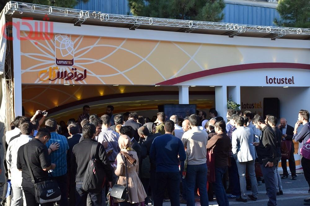 گزارش تصویری نمایشگاه تلکام 2017 - روز دوم