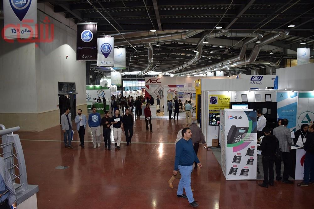 گزارش تصویری نمایشگاه تلکام 2017 - روز سوم
