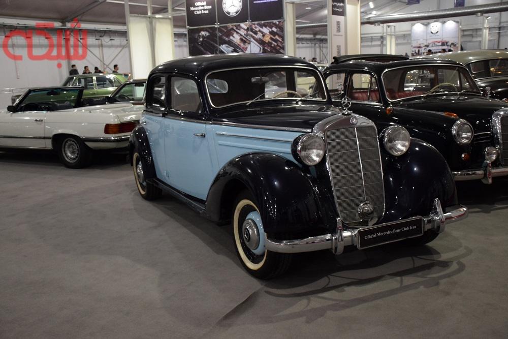 خودروهای کلاسیک نمایشگاه خودروی تهران