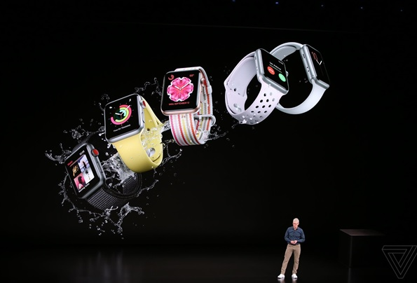 اپل در کنفرانس امسال از اپل واچ 4 با قابلیتهای منحصر به فرد رونمایی کرد + گالری عکس