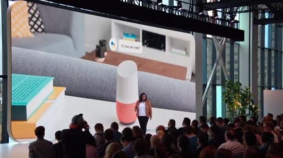 گوگل از بلندگوی هوشمند هوم هاب جدید خود رونمایی کرد