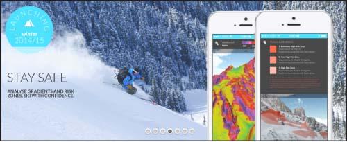 نقشههای سهبعدی برای اسکی