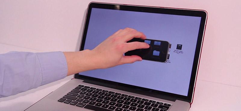 تعامل سادهتر گوشی هوشمند و کامپیوتر با نرمافزار THAW