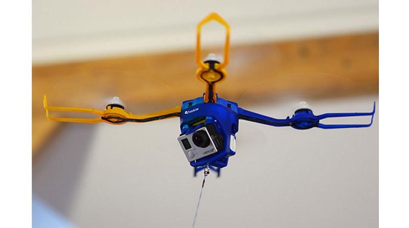 کوادکوپتر خود را پرواز دهید و سلفی بگیرید!