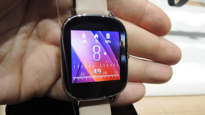بررسی کوتاه ساعت هوشمند جدید ZenWatch 2 ایسوس