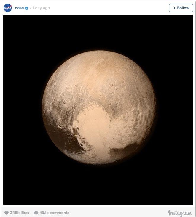 ارسال عکس از کمی دورتر؛ سیاره پلوتو