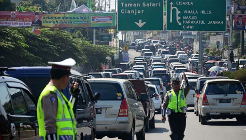 نرمافزار موبایل بررسی ترافیک جادهای در اندونزی