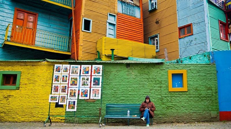 گالری عکس: رنگارنگترین شهرهای دنیا که هیچ نیازی به فیلتر اینستاگرام ندارند