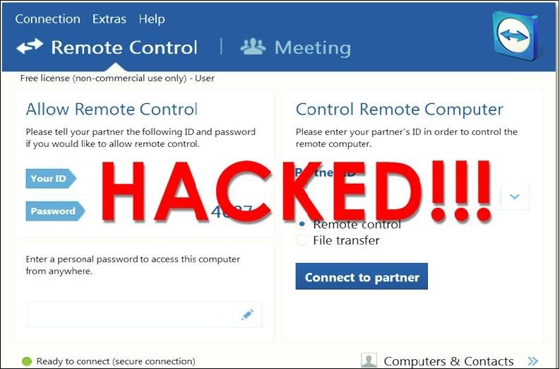 مقصر اصلی هک شدن نرمافزار Team Viewer کیست؟