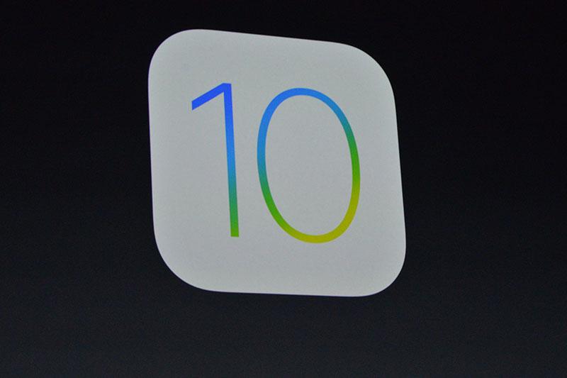 سیستمعامل موبایل iOS 10 اپل معرفی شد