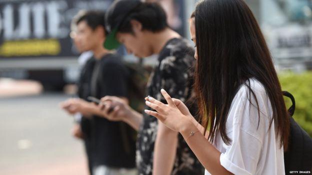 نصب تابلوهای هشدار دهنده برای معتادان اسمارتفون در کرهجنوبی