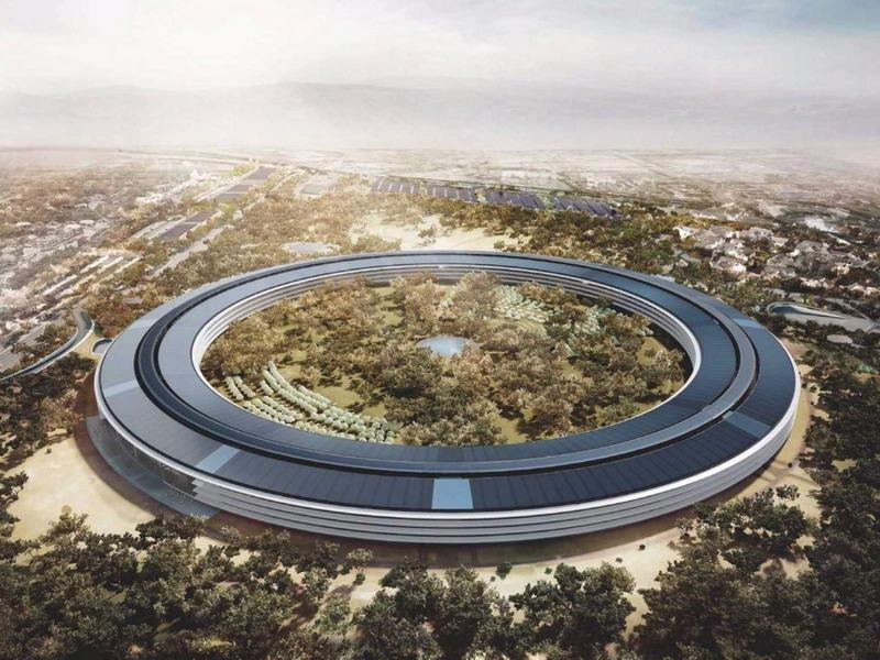 ۱۸ واقعیت شگفتانگیز دفتر جدید شرکت اپل