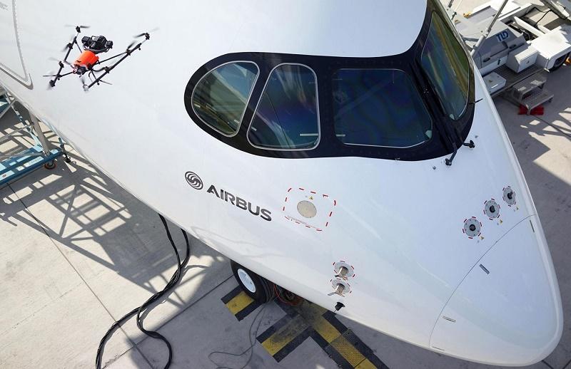 بررسی امنیت هواپیماهای ایرباس با دِرون