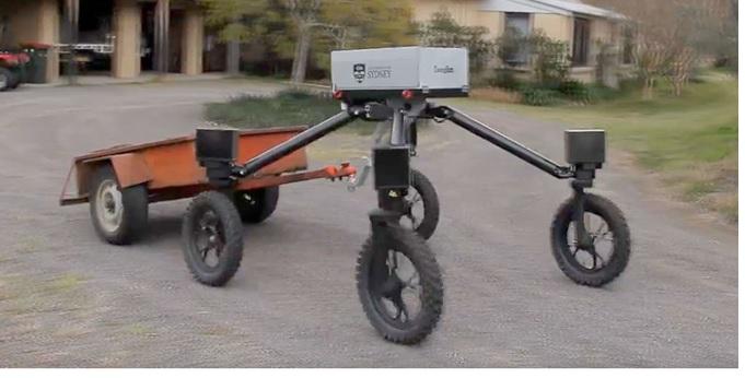 اولین ربات گاوچران هم در مزرعه شروع به کار  کرد
