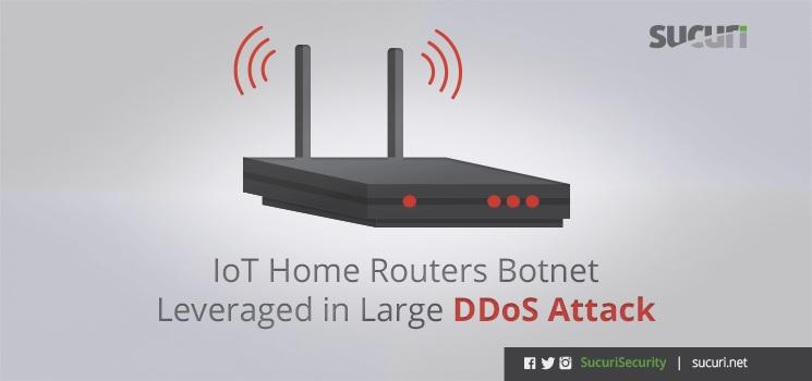 مسیریابهایی که حملات DDoS را هدایت میکنند