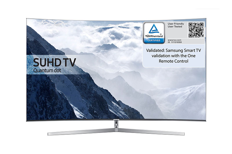 تلویزیونهای هوشمند سامسونگ گواهی کاربردپذیری TÜV گرفتند