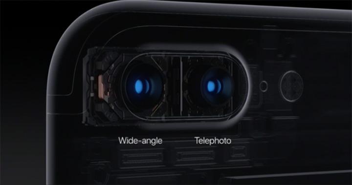 دوربین دو لنزی آیفون