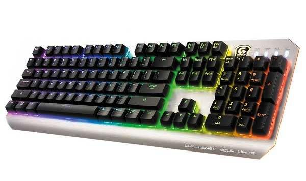 صفحه کلید مکانیکی XK700 گیگابایت معرفی شد