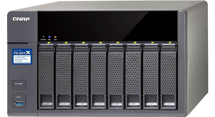ذخیرهساز جدید کیونپ برای شبکههای ده گیگابیتی