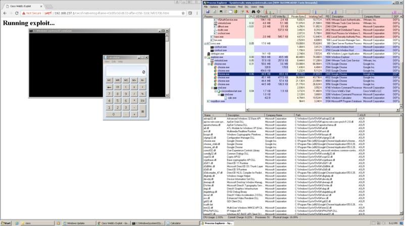 افزونه WebEx اجازه اجرای از راه دور کدها را میدهد