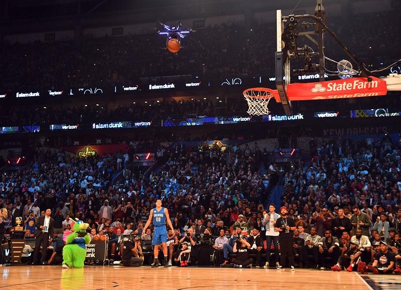 تماشا کنید: دِرون اینتل ستاره مسابقات اسلمدانک NBA شد