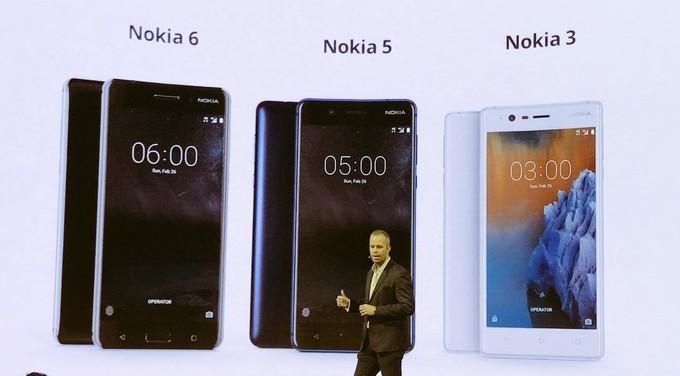 کنگره جهانی موبایل: نوکیا 3، نوکیا 5 و نوکیا 3310 معرفی شدند