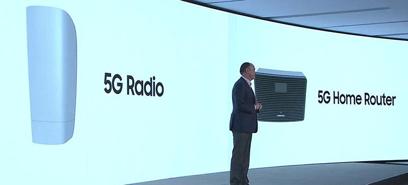 سامسونگ روتر خانگی 5G معرفی کرد
