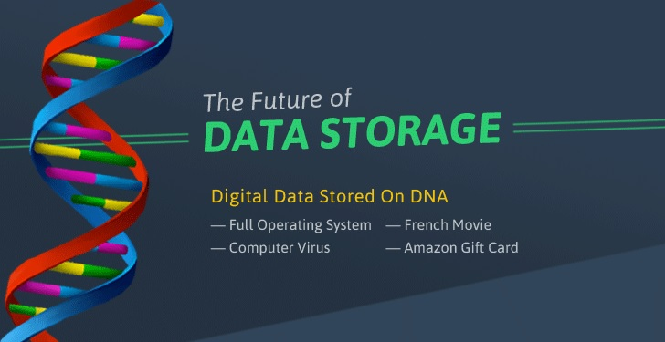 اطلاعات چگونه روی DNA ذخیرهسازی میشوند؟