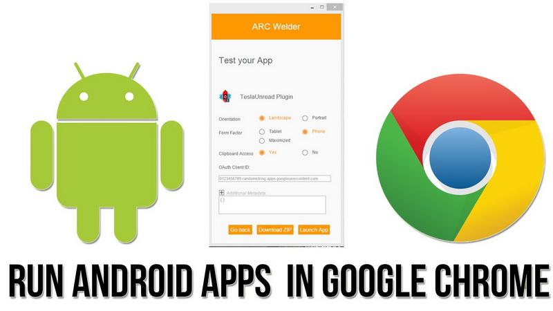 چگونه اپلیکیشنهای اندروید را در مرورگر گوگل کروم اجرا کنیم
