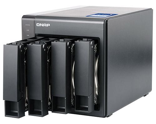 کیونپ ذخیرهسازی ویژه شبکههای ده گیگابیتی معرفی کرد
