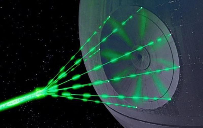 اسلحه لیزری و کشنده جنگ ستارگان ساخته میشود