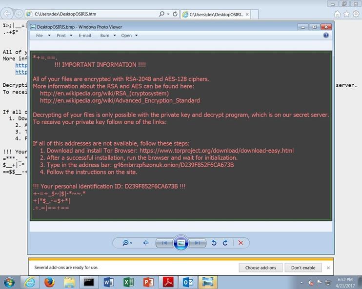 کاملا احتیاط کنید؛ باج افزار Locky دومرتبه فعال شده است