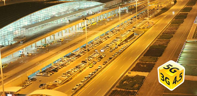 تاکسیهای فرودگاهی به اینترنت پرسرعت ایرانسل متصل میشوند