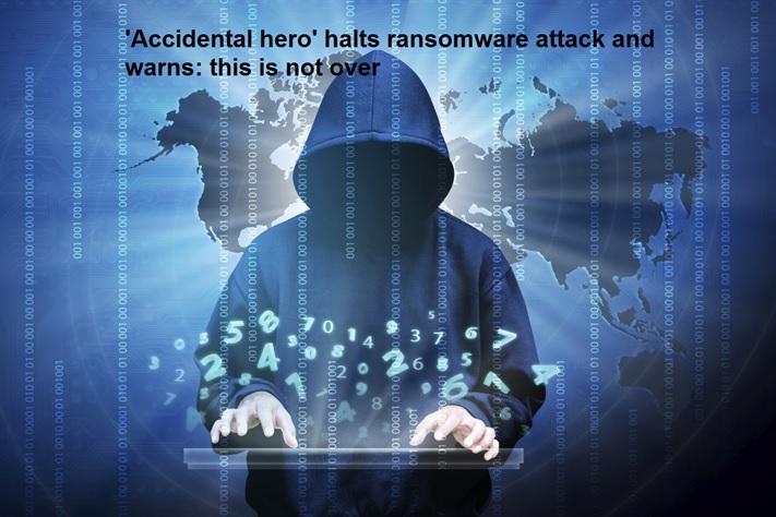 «قهرمان تصادفی» با سوییچ مرگ کاربران را از شر باج افزار WannaCry نجات داد