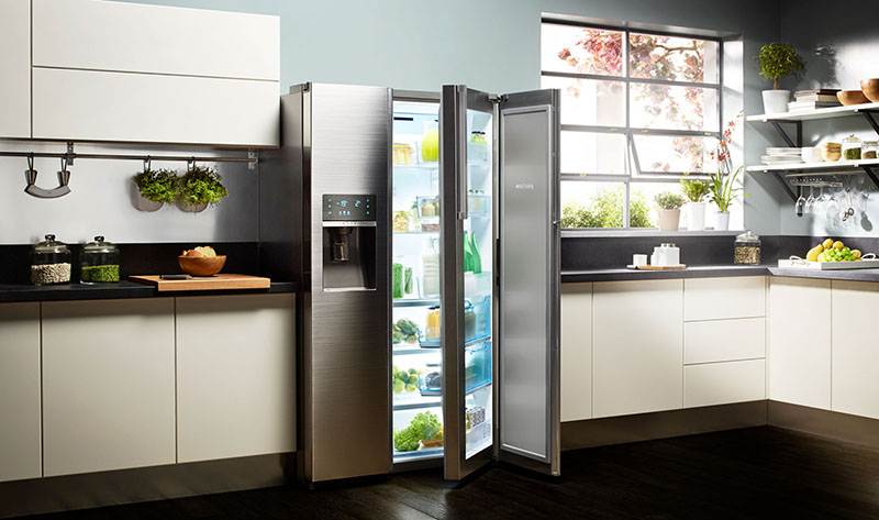چگونه محتویات یک یخچال را مرتب کنیم
