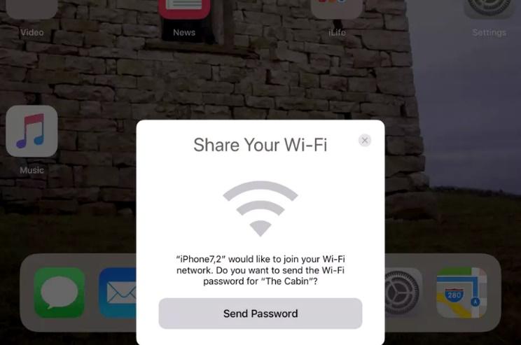 اپل اشتراکگذاری وایفای در iOS 11 را سادهتر میکند
