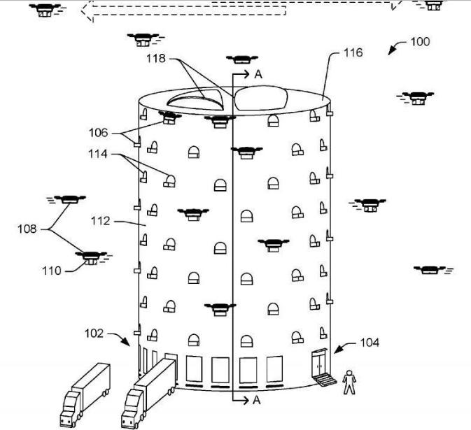 آمازون برای تحویل سفارش مشتریان برج ویژه میسازد