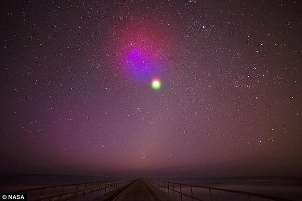 تماشا کنید: ناسا سرانجام ابر مصنوعی تولید کرد