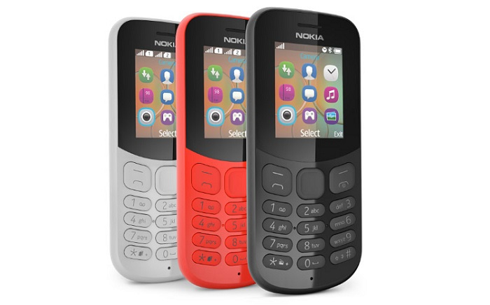 نوکیا نسخه جدید دو گوشی فیچرفون نوکیا 105 و نوکیا 130 را معرفی کرد