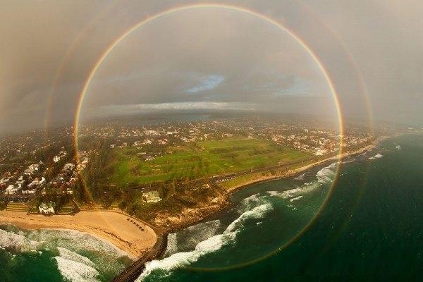 تماشا کنید: رنگین کمان 360 درجه!