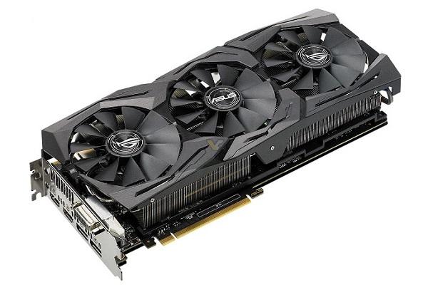 نگاهی به کارت گرافیک Asus ROG Strix GeForceGTX 1080 Ti 11GB